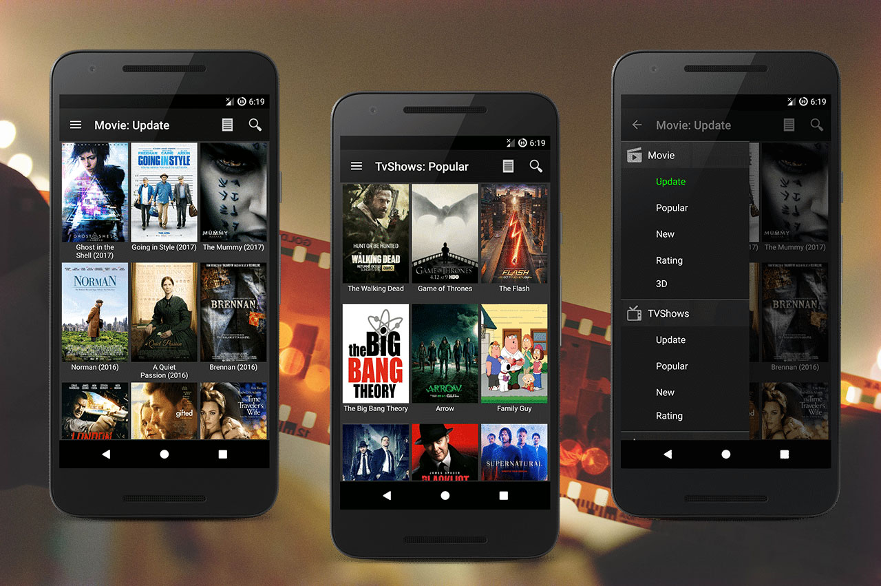 free movie online for android tablet